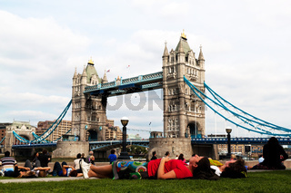 England, London, Tower-Bridge