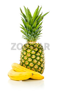 Pineapple and banana