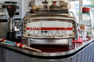 Alte Kaffeemaschine