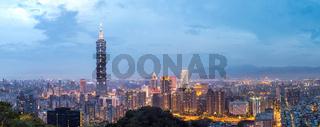 Taipei, Taiwan skylines