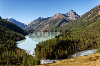 Kucherla lake in the Altai Mountains, Russia