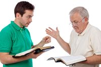 Discussing the Bible