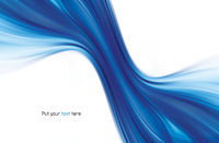 Abstract swirl blue background2