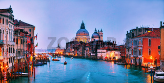 Panoramic overview of basilica Di Santa Maria della Salute