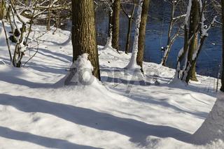 Winterlandschaft, winter landscape