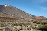 Vulkan Pico del Teide auf der kanarische Insel Teneriffa