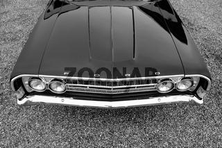 Ein US-Amerikanischer Ford Oldtimer