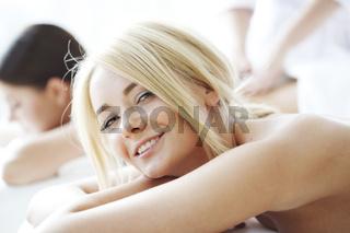 Women in spa