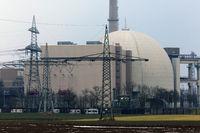 Kernkraftwerk Isar.