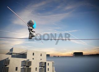 Robot Tightrope walker