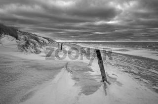 Ostsee - Stimmung am Winterstrand