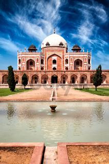 Humayun#39;s Tomb. Delhi, India