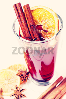 Cinnamon with orange