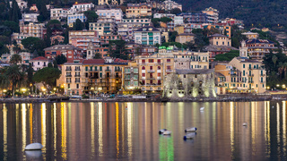 Nightview of Rapallo