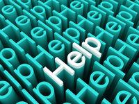 3D help texts