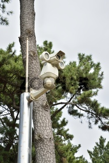 CCTV camera with Infrared light