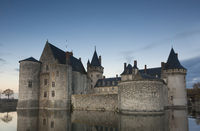 Castle of Sully-Sur-Loire, Loiret, Centre-Val de Loire, France