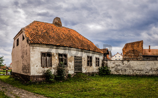 Old house in Barczewo, Poland