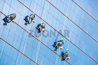 High Rise Window Washers