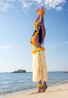 Hula Hawaii dancer