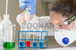 Forscher Labor Versuchsreihe