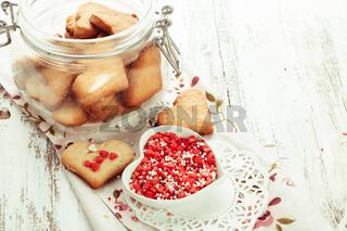 The Heart cookies
