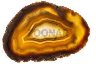 braune Achatscheibe