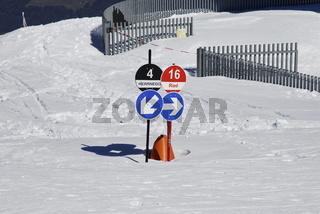 Kronplatz, Alpen bei Olang