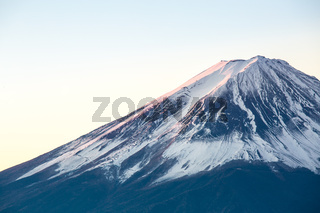 Mountain Fuji sunrise Japan