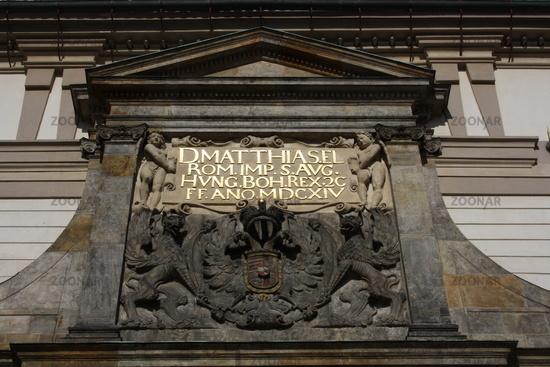 Prag, Burg Matthiastor