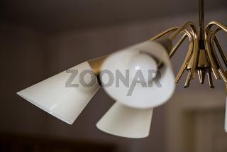 Wohnzimmerlampe aus den Fünfiger Jahren