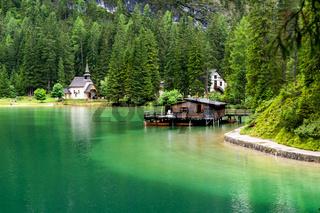 Pragser Wildsee in Südtirol