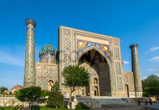 Ulugh Beg Madrasah, Registan, Samarkand, Uzbekistan