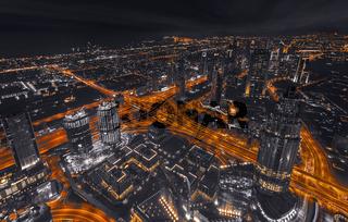 Dubai Aerial View