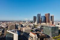 Downtown Los Angeles city skyline