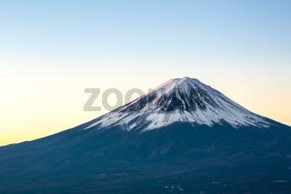 Mountain Fuji sunrise Japan