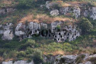 Nekropolis Pantalica Grabkammern
