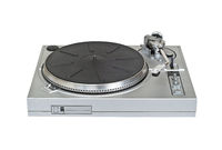 Turntable vinyl record player cutout
