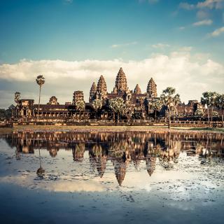 Angkor Wat temple. Siem Reap, Cambodia