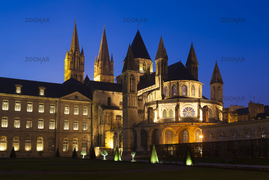 L'Abbaye-aux-Hommes, Church of Saint Etienne, Caen, Normandy, France