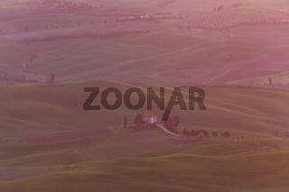 Bauernhaus Weingut Sonnenaufgang