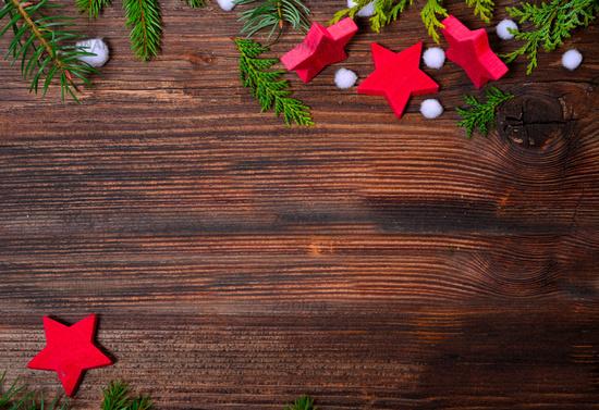 Weihnachten Holz Hintergrund Sterne