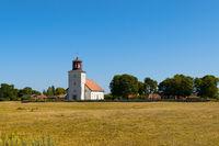 Kirche von Gårdby auf der Insel Öland