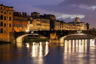 Holy Trinity Bridge in Florence