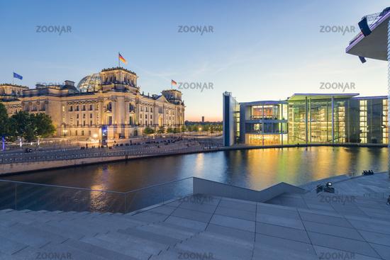 Reichstag - Paul-Löbe-Haus | Berlin