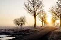 Oberschleißheim im Winter