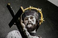 Heiligen Figur