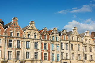 Buildings in The Grande Place Arras