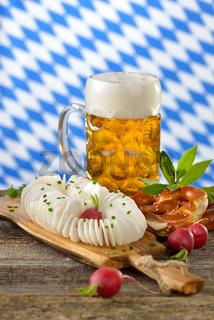 Bier mit Radi