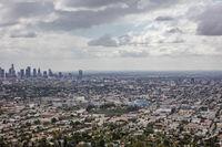 Skyscrapers in Los Angeles, California
